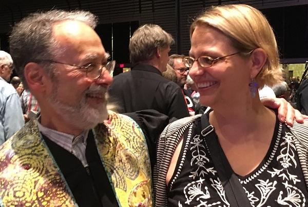Rev. Barnaby and Poppy Rees at GA 2017